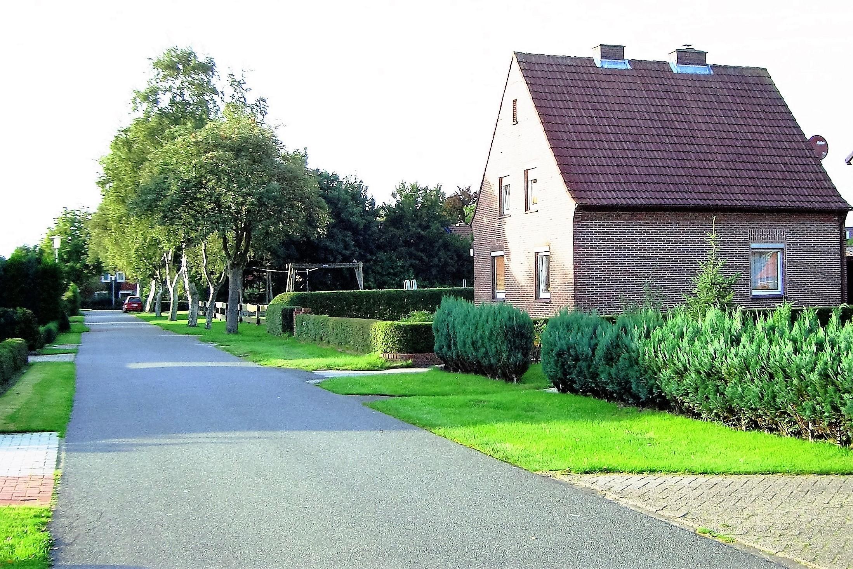 Foto vom Haus, in dem sich die Ferienwohnung befindet