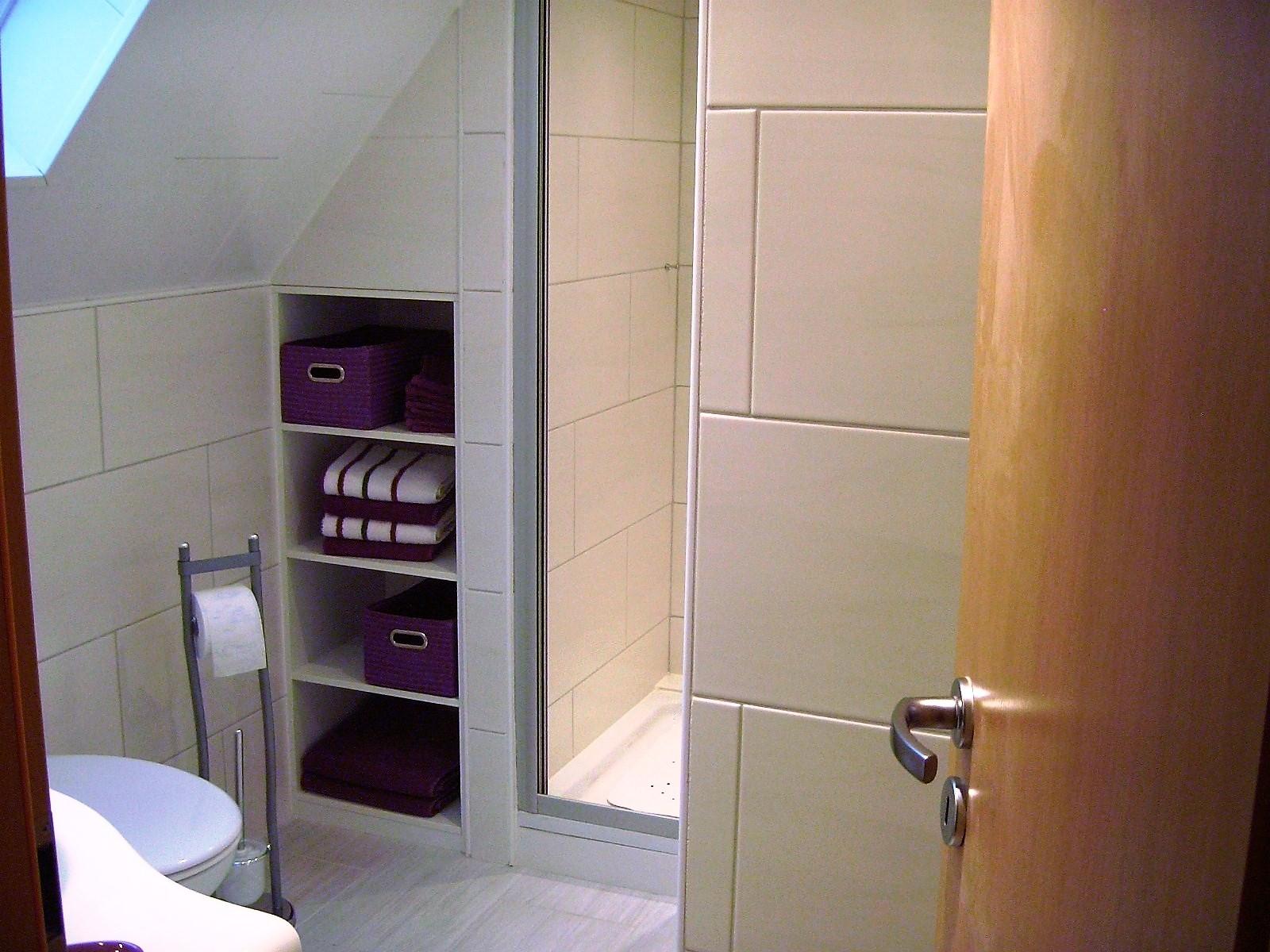 Foto von der Dusche im Bad