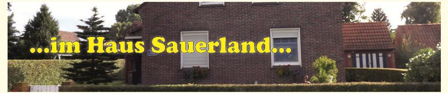 Foto vom Haus Sauerland